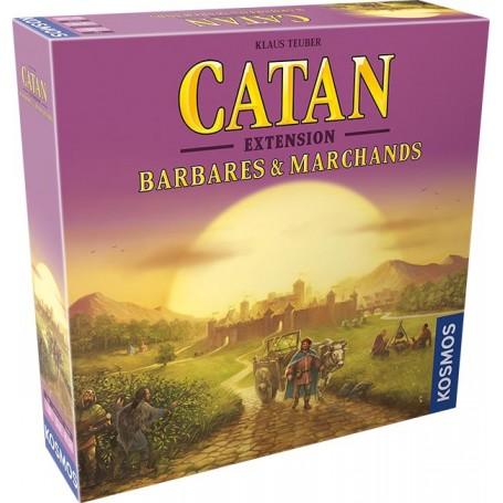 Catan - Barbares et Marchands - 3/4 joueurs