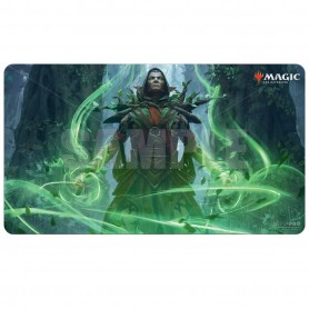 Ultra-Pro - Magic The Gatering - Tapis de Jeu Edition de Base 2021 V3 - Visionnaire de Llanowar