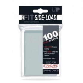 Ultra-Pro Side-Load Pro-Fit 100 Sleeves - Transparent