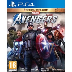 Jeu PS4 - Marvel Avengers - Deluxe Edition