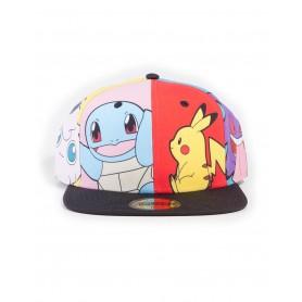 Casquette Pokémon - Multi Pop Art