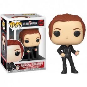 Pop Black Widow - Natasha Romanoff - Figurine à tête oscillante