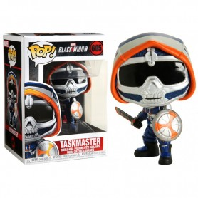 Pop Black Widow - Taskmaster - Figurine à tête oscillante