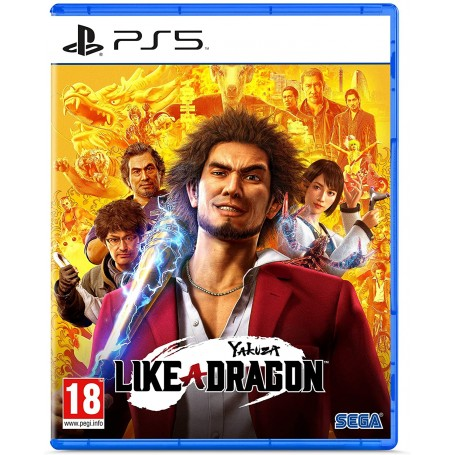 Jeu PS5 - Yakusa Like A Dragon