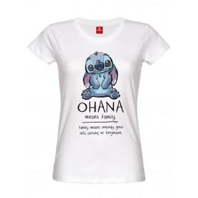 T-shirt Stitch - Ohana Means Family
